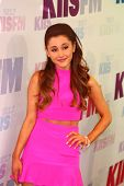 LOS ANGELES - MAY 11:  Ariana Grande attends the 2013 Wango Tango concert produced by KIIS-FM at the