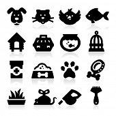 Ícones do animal de estimação