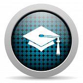 Graduierung glossy icon