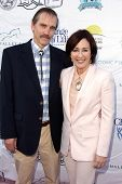 LOS ANGELES - MAY 18:  Bill Moseley, Patricia Heaton at the 6th Annual Compton Jr. Posse Gala  at Lo