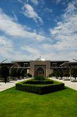 Tuanku Mizan Zainal Abidin Mosque's Front Facade