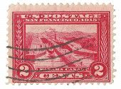 United States Stamp of Panama Canal