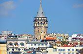 Galata Karaköy Viertel von istanbul