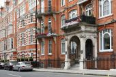 Elegant Townhouses, Mayfair District Of London