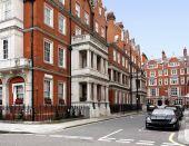 Elegant Townhouses, Mayfair District Of London