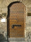 image of assis  - Picture of a door taken in Assis Italy - JPG