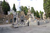 Cemetery Montjuic in Barcelona.
