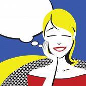 Beauty Thinking Women