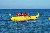 Banana boat, Torremolinos, Spain.