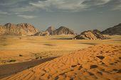 Wadi rum Wüste, Jordanien