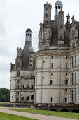 Постер, плакат: The royal Castle of Chambord in Cher Valley France