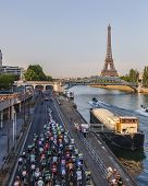 The Peloton In Paris