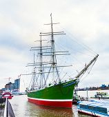 Historic Sailor Rickmer Rickmers Serves As Museum Ship