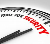 Time for Security words clock precautions mitigate risk