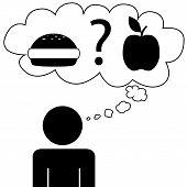 Man dream food