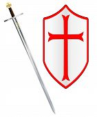 Crusaders Sword And Shield