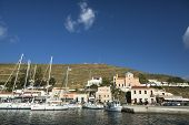 KEA, GREECE - APR 28, 2014: Marina of Kea, is a Greek island in the Cyclades archipelago in the Aege