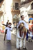 Easter parade in Palermo of Sicily, Italy