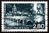 Postage Stamp France 1994 Saulx River Bridge
