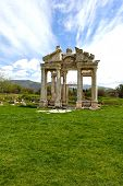 Aphrodisias City Gate Grass