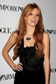 LOS ANGELES - SEP 27:  Bella Thorne at the Teen Vogue's 10th Annual Young Hollywood Party at Private