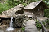 Watermill in Romanian Banat