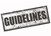 Guidelines Stamp