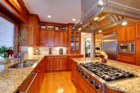 image of combinations  - Luxuriant kitchen interior - JPG
