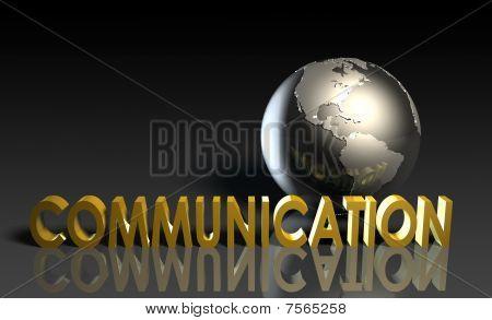Постер, плакат: Услуги связи, холст на подрамнике