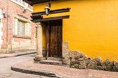 stock photo of bolivar  - Candelaria in Bogota - JPG