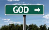 God creative sign