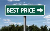 Best Price creative sign