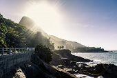 The summer in Rio de Janeiro, Brazil
