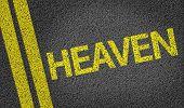 Heaven written on the road
