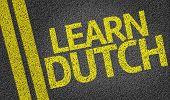 Learn Dutch written on the road
