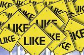 Like written on multiple road sign
