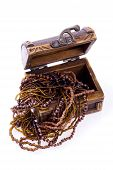 Overflowing Treasure Chest - Wood Jewellery