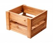 Open Ended Wooden Crate