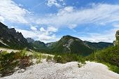 picture of italian alps  - Beautiful ummer l - JPG