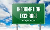 Information Exchange on Highway Signpost.