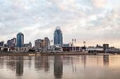 Cincinnati Downtown Panoramic Overview