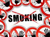 No Smoking Abstract Concept