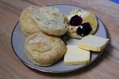 Baking Powder Biscuits, Baked