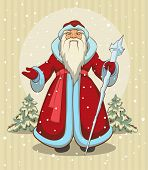 Russian Grandfather Frost. Santa Claus