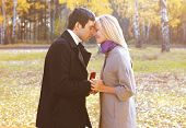 picture of propose  - Love couple relationship and engagement concept  - JPG