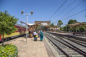 Train Station In Marrakesh, Morocco