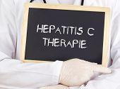 Doctor Shows Information: Hepatitis-c-therapy In German