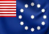 Flag Of Easton, Usa.