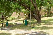 mmldc mini park's pathway