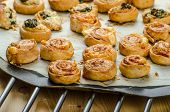 Canapés Puff Pastry